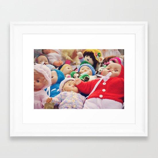 It's a Doll's Life Framed Art Print