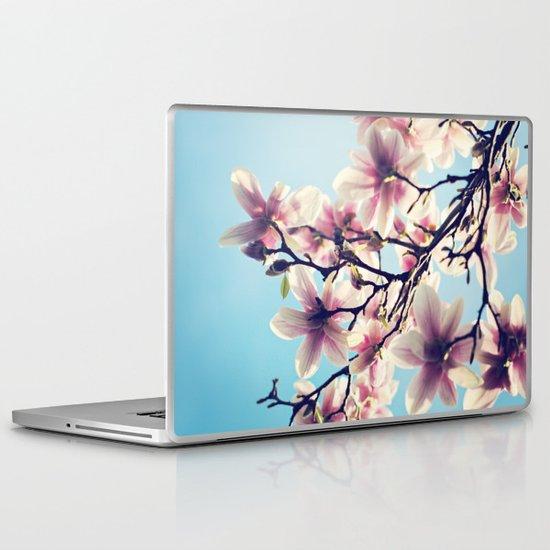May Magnolias  Laptop & iPad Skin