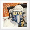 Fear & Loathing Gonzo Art Print