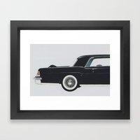 Continental mark II Framed Art Print