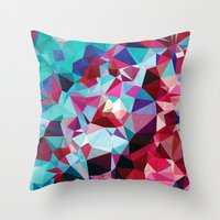 Polygon Pattern Throw Pillow