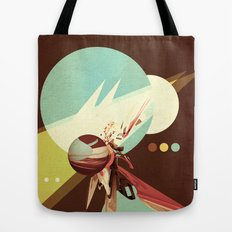 Vintage Space Poster Series I - Explore Space - It's Fun! Tote Bag
