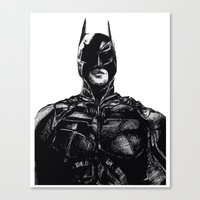 DARK NITE Canvas Print