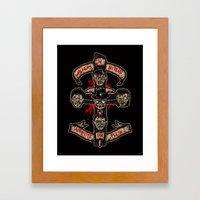 Appetite For Flesh Framed Art Print