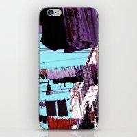 Hanging Laundry pt1 iPhone & iPod Skin