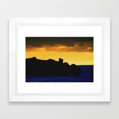 Granite Island Framed Art Print