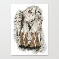 Hares Canvas Print