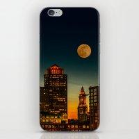 Boston Pink  Moon  iPhone & iPod Skin