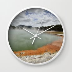 Thermal Pool Wall Clock