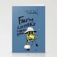 Fear and Loathing in Bikini Bottom Stationery Cards