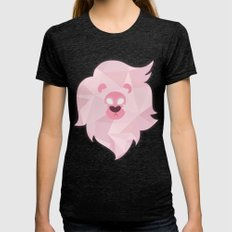 Lion - Steven Universe Womens Fitted Tee Tri-Black SMALL