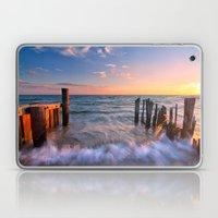 Rushing Waves at Sunset Laptop & iPad Skin