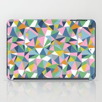 Abstraction Repeat Pink iPad Case