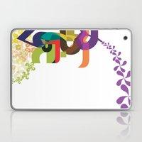 Flowers of Simele Laptop & iPad Skin