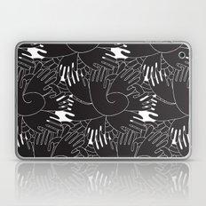 BLACK HANDS Laptop & iPad Skin