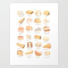 Cheese Revamp Art Print