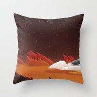 Mars, Off Road Throw Pillow