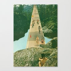 here comes the summer Canvas Print