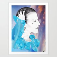 PLANET EARTH IS BLUE... Art Print