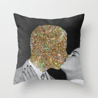Gold Digging Throw Pillow