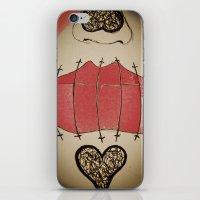 Mouth Shut, Guard Up iPhone & iPod Skin