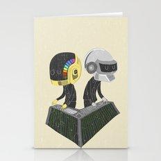DaftPunk Stationery Cards
