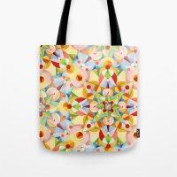 Pastel Carousel Tote Bag