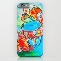iPhone & iPod Case featuring Water Souls by Ming Myaskovsky
