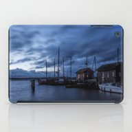 Blue Hour At Harbour iPad Case