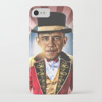 obama iPhone & iPod Cases featuring OBAMA by NOXBIL