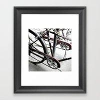 bikes 08 Framed Art Print