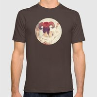 Translations Mens Fitted Tee Brown SMALL