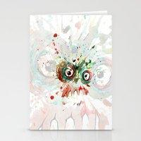 Buzzed Zombie Stationery Cards