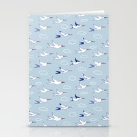 Sea Birds Stationery Cards