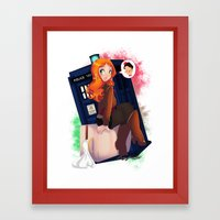 Doctor Who - Amy Pond Framed Art Print