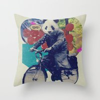 DCXV Throw Pillow