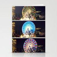 Melbourne Ferris Wheel T… Stationery Cards