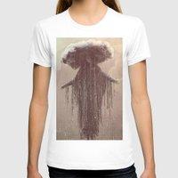 lady gaga T-shirts featuring storm lady by Maria Enache