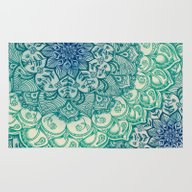 Emerald Doodle Rug