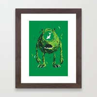 Wazowski of Fish Framed Art Print