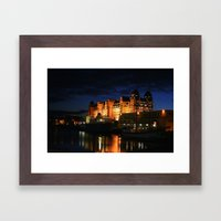 Oslo Port Framed Art Print