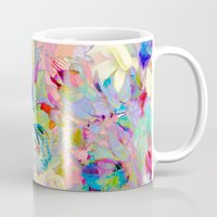 summery floral Mug