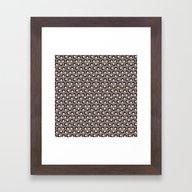 Leia Pattern Framed Art Print