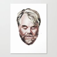 Philip Seymour Hoffman P… Canvas Print