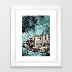 Collage #38 Framed Art Print