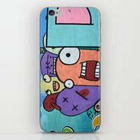 Graffiti guys iPhone & iPod Skin