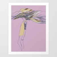 TRULY, DEEPLY IN LOVE Art Print
