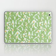 Happy Cactus | Pattern Laptop & iPad Skin