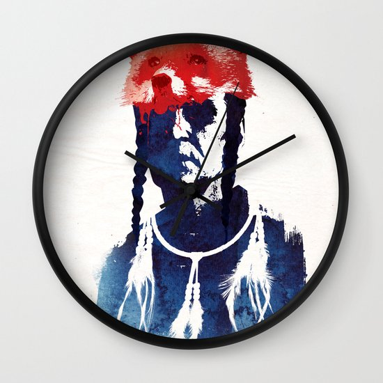 Bloody days are coming Wall Clock