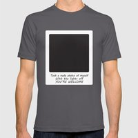 Nude Photo Mens Fitted Tee Asphalt SMALL
